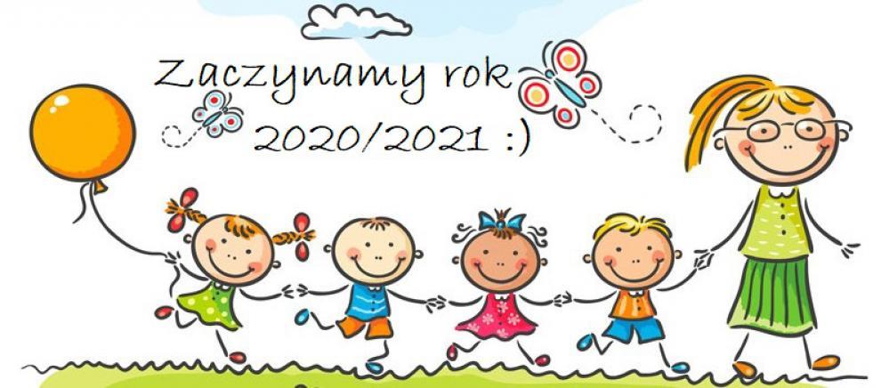 Najważniejsze informacje dla Rodziców na rozpoczynający się rok szkolny 2020/2021